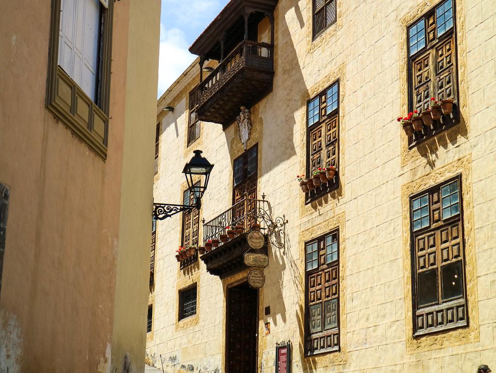 Fachada Casa Lercaro Orotava