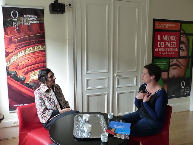 Visite de l'Opéra et du CFA des Métiers de laScène