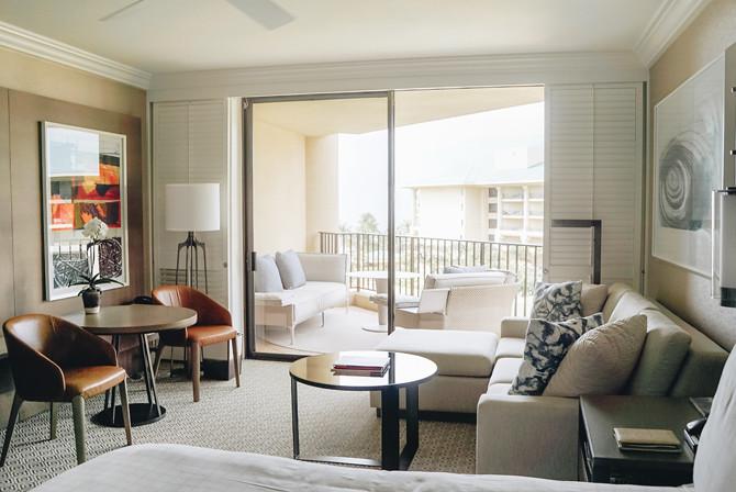 four seasons maui resort guest room review