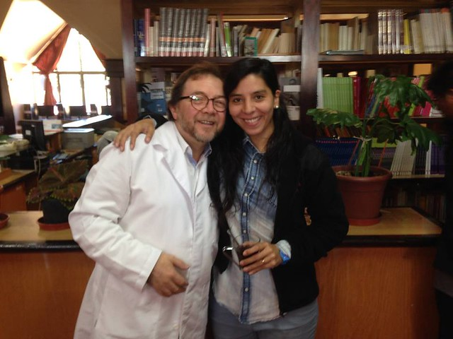 Diálogo del escritor MuñozColoma con estudiantes del CEAT