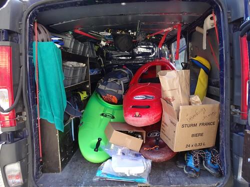 trip ubaye ski et kayak