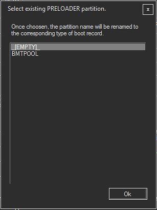 MasterC0de's MTK Partition Editor - Modifying GPT