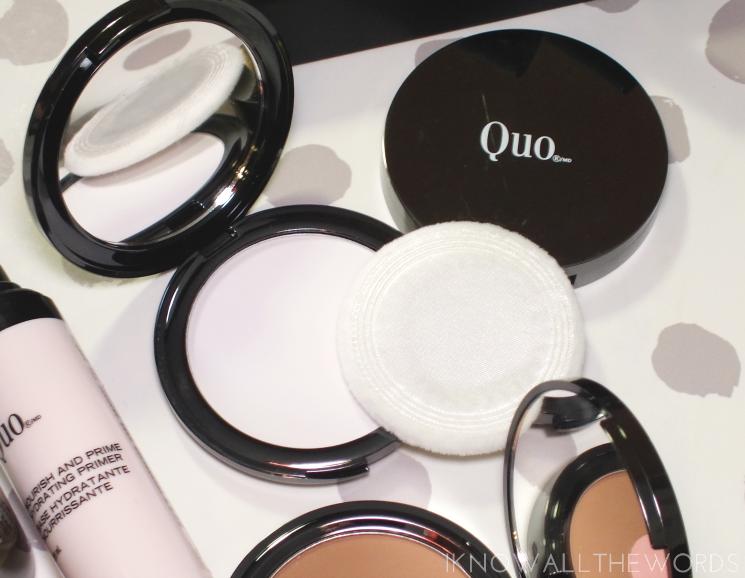 quo radial blur translucent powder