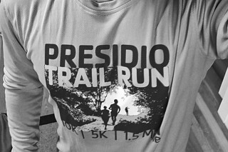 Presidio Trail Run - Tshirt bw