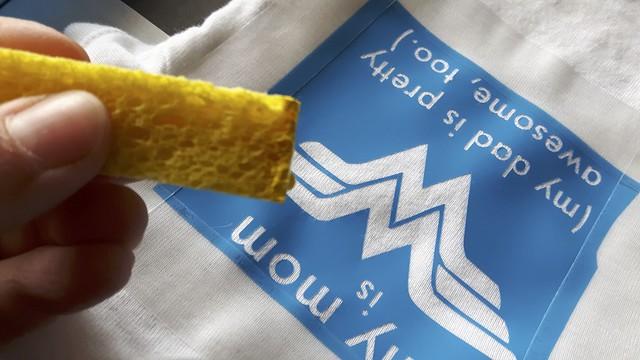 Sponge Painted Onesies 13