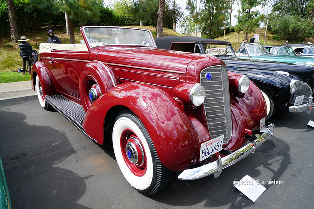 1936 Lincoln K Brunn Convertible Victoria