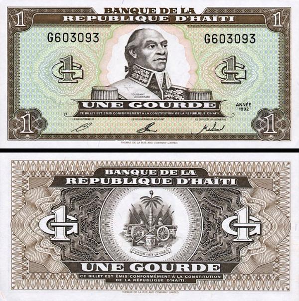 1 Gourde Haiti 1993, P259a