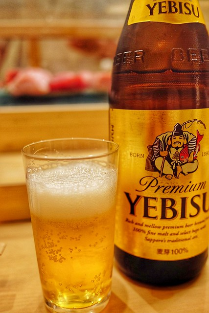 YEBISU Premium beer