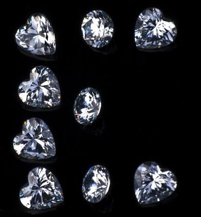 M Letter In Black Diamonds Glossy Diamonds...