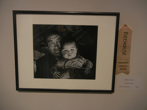 "DSCN8815 _ ""Father and Son"", Robert Huberman, Honorable Mention Award, Fresh Works VII Juried Exhibition, Firehouse Arts Center, Pleasanton"