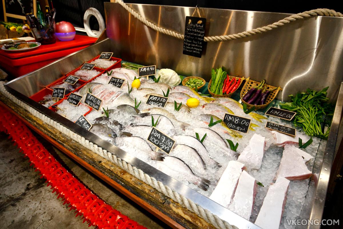 Bubu Grill Seafood Seafood Selection