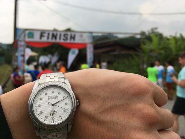 Penang ECO 100 finishing line