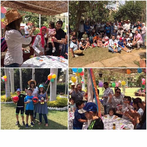 Exitosa celebración del Día del Niño con la comunidad mexicana radicada en Egipto