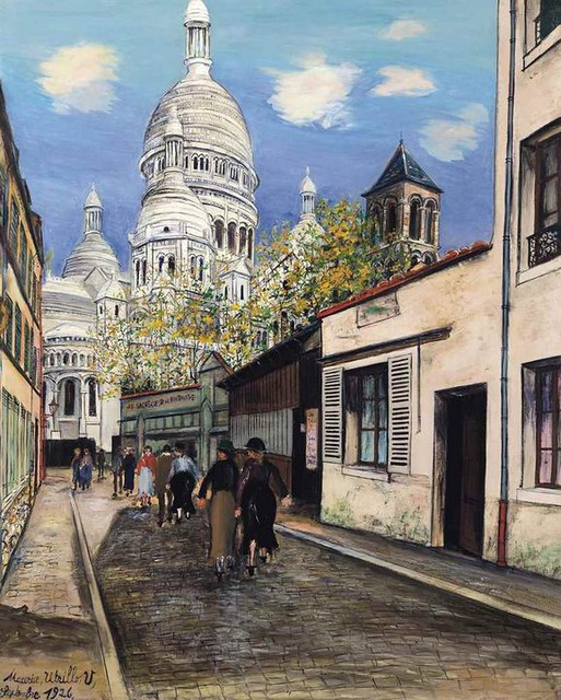 Sagrado Corazon - Utrillo 2