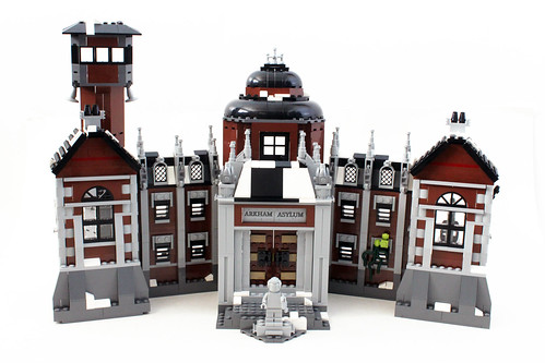 The LEGO Batman Arkham Asylum (70912)