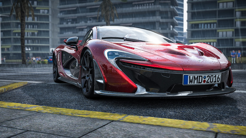 Project Cars Mclaren P1 Screenshot Of The Beauty Of Proj Flickr