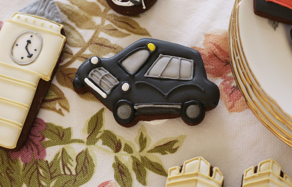 Biscuiteers London Black Cab