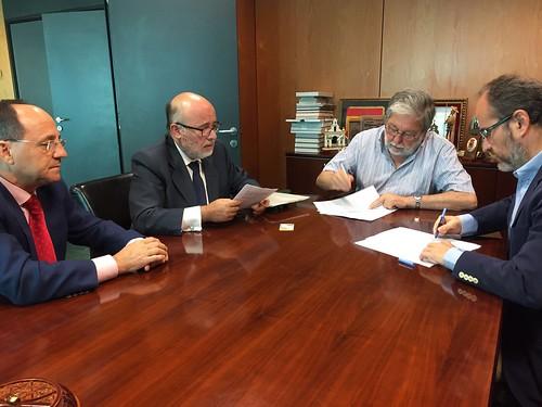 Ayuntamiento y Red Eléctrica de España firman convenio para construir subestación eléctrica