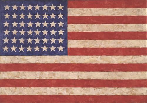 Jasper Johns, Flag, 1958.