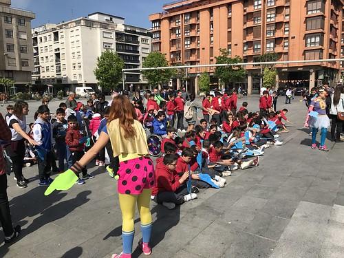 #PorLaEducacion Campaña Mundial por la Educación en Getxo