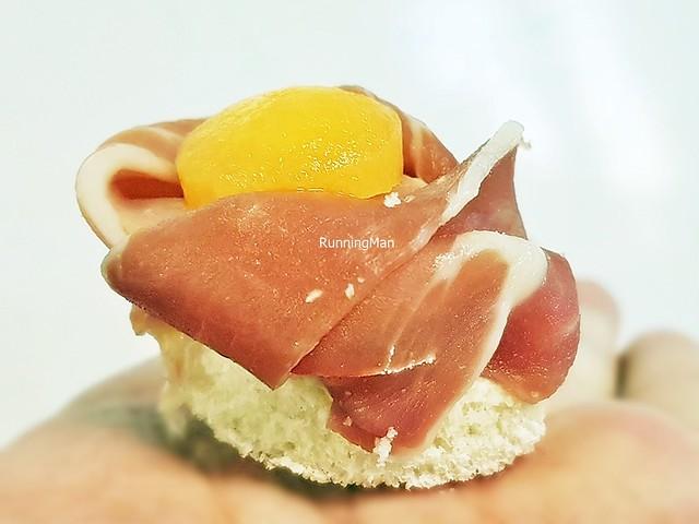 Parma Ham With Rock Melon