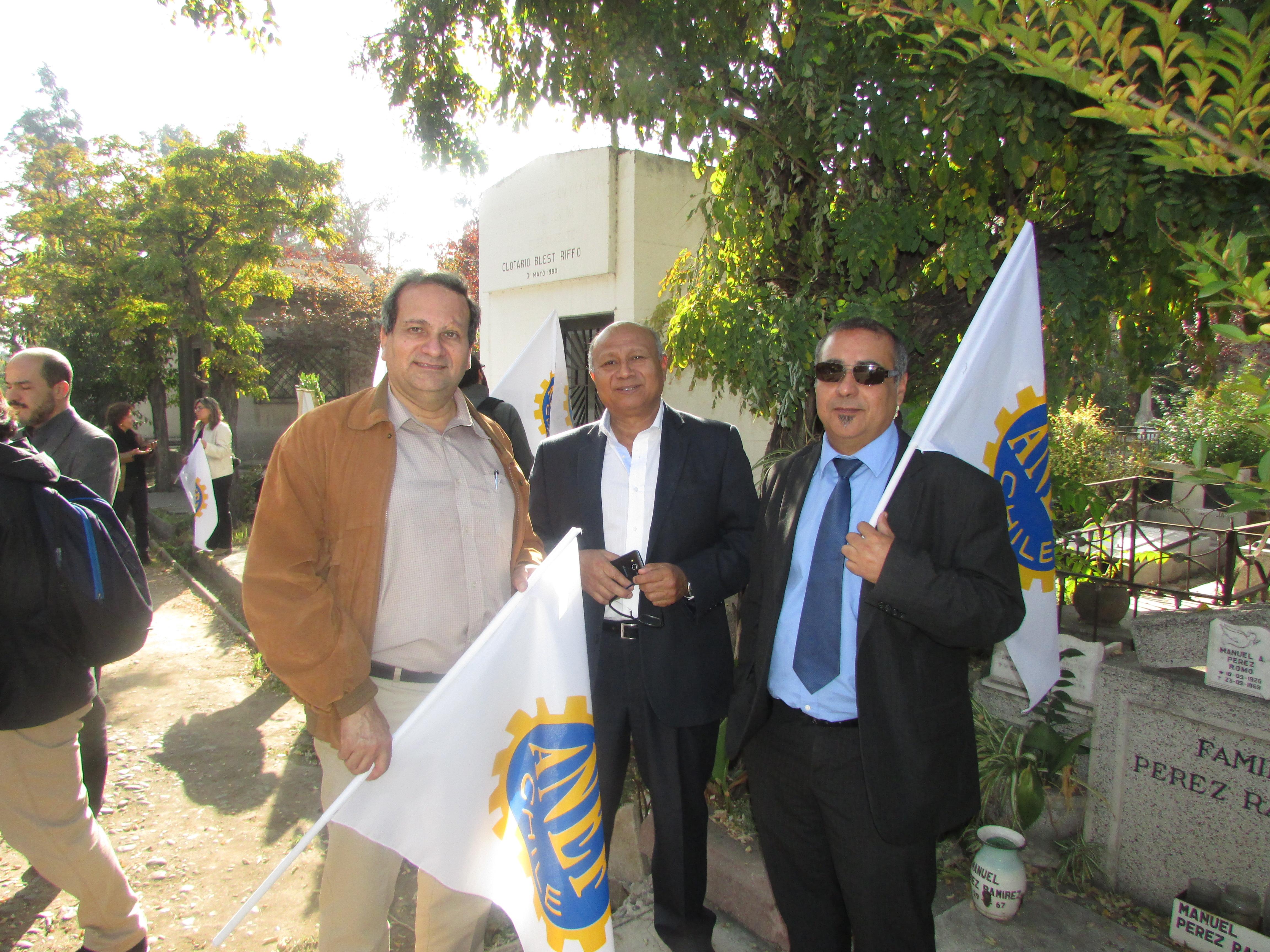 AET participó en romería en homenaje a Clotario Blest - 05 Mayo 2017