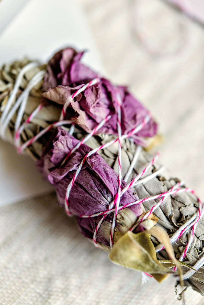 Rose And Sage Smudge Stick Mother S Day Gifts In The