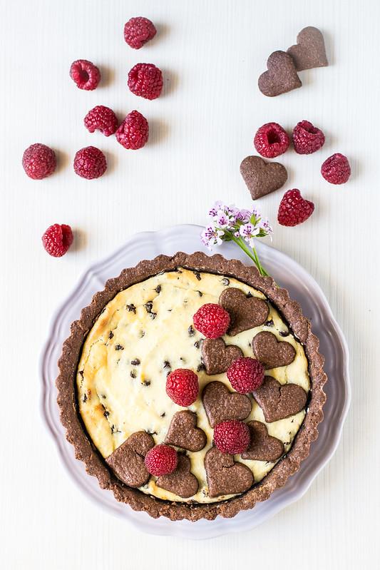 Crostata di ricotta e cioccolato