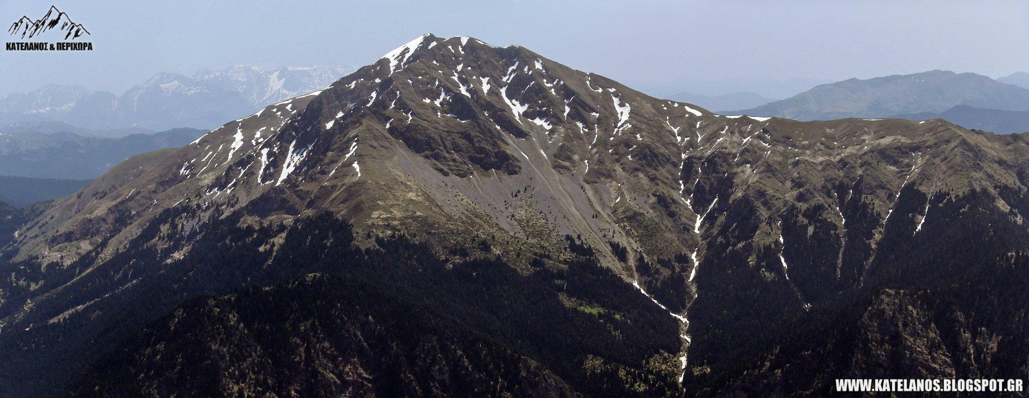 καλιακουδα βουνο ευρυτανιας χιονουρες