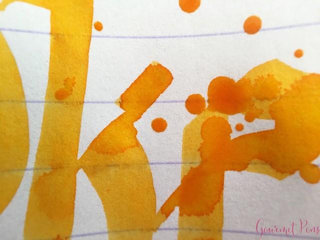 Ink Shot Review P.W. Akkerman Dutch Masters Gele Oker van Frans @vulpennen 13
