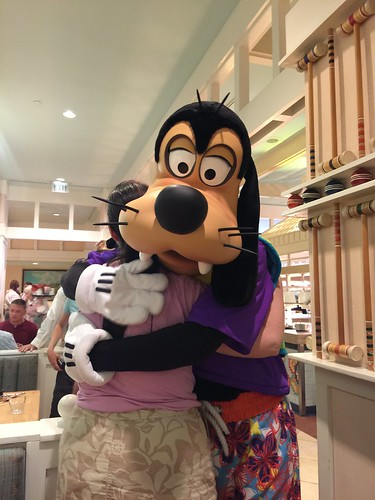 Tracey and Goofy | by Disney, Indiana