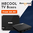 MeCool TV Boxes for Geekers @ Banggood