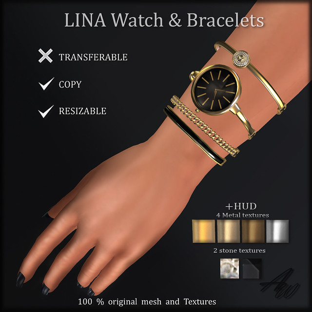 LINA Watch & Bracelets