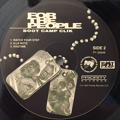 BOOT CAMP CLIK:FOR THE PEOPLE(LABEL SIDE-B)