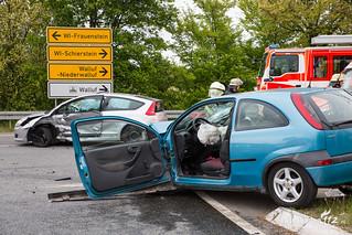 Schwerer Verkehrsunfall Grorother Str. 25.04.17