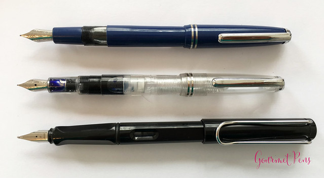 Review: @FPRevolution Guru Fountain Pen - Steel Flex Nib Pen for Beginners 7