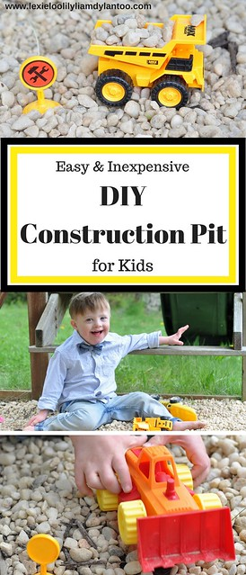 Easy & Inexpensive DIY Construction Pit for Kids