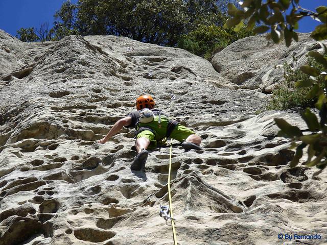 Roger Serret - Via 9, V -01- La Cova de l'Ocell, Sector D (07-05-2017)