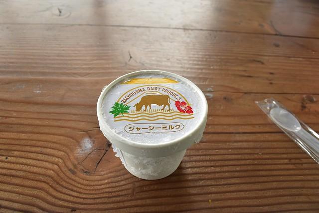 八丈島ジャージーミルクアイス