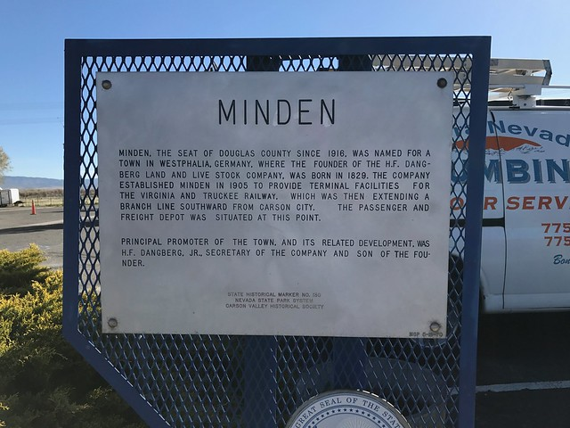 Nevada Historical Marker #130