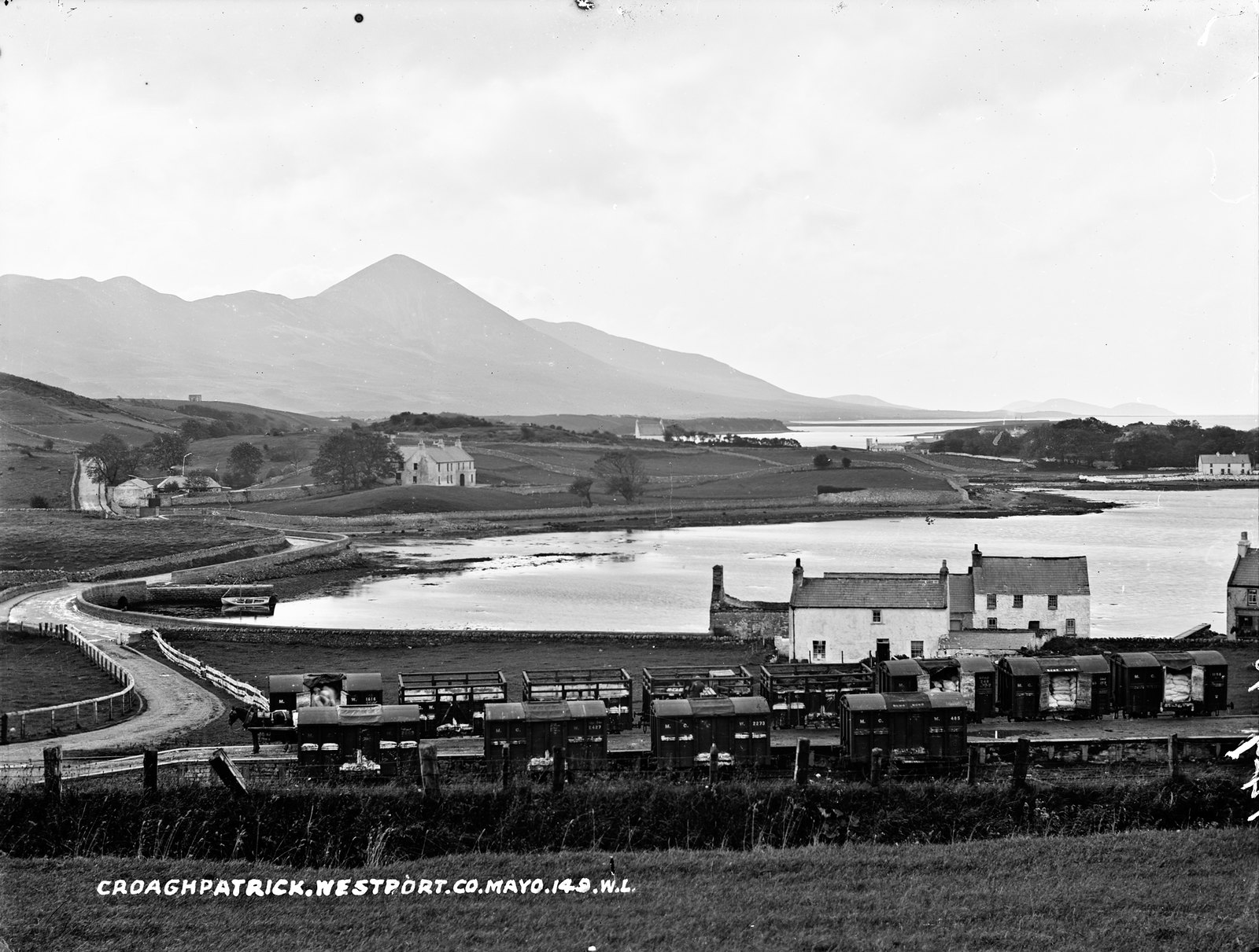 Croagh Patrick, Westport, Co. Mayo and a whole lot more. | by National Library of Ireland on The Commons