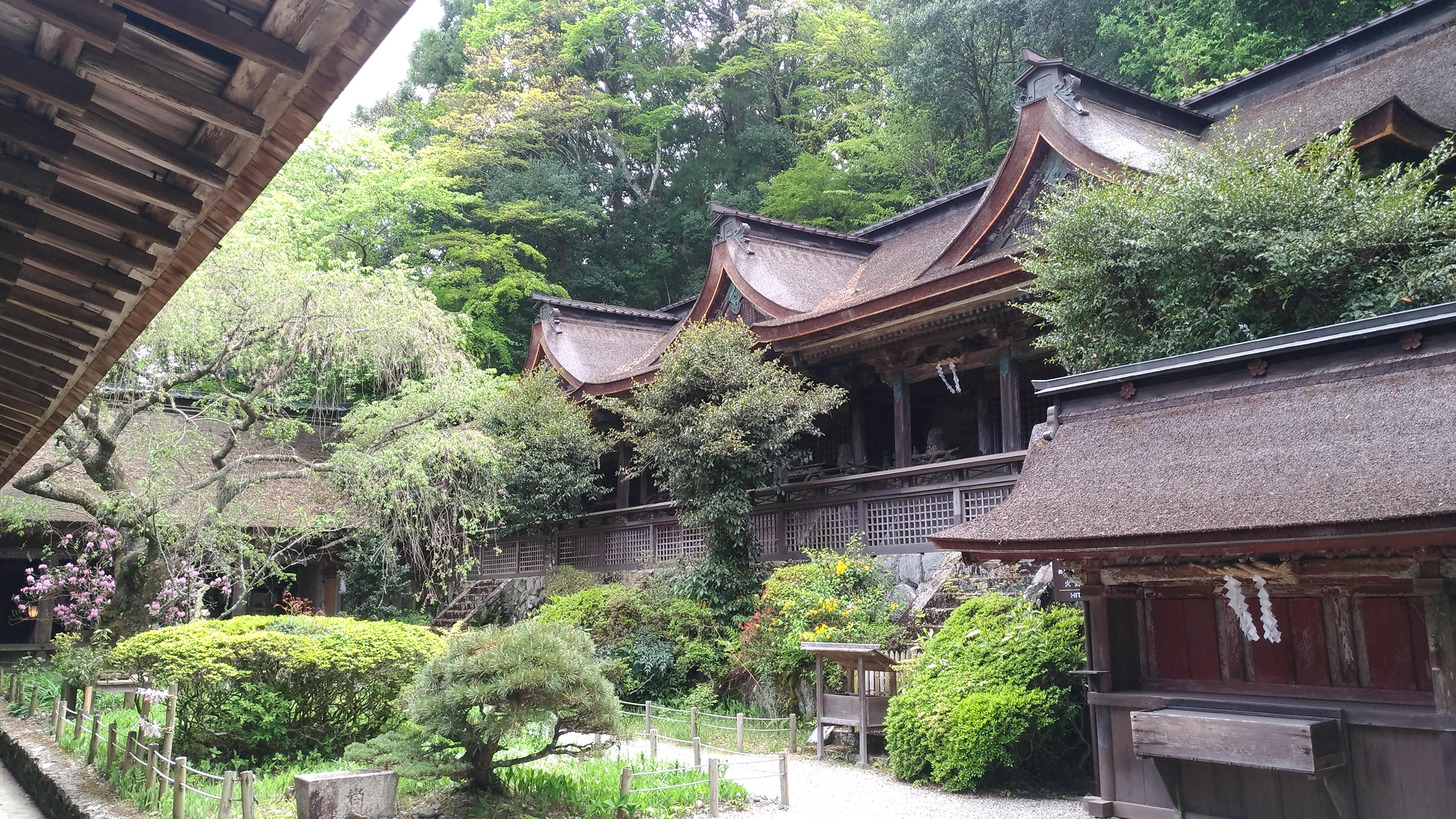 吉野水分神社 中