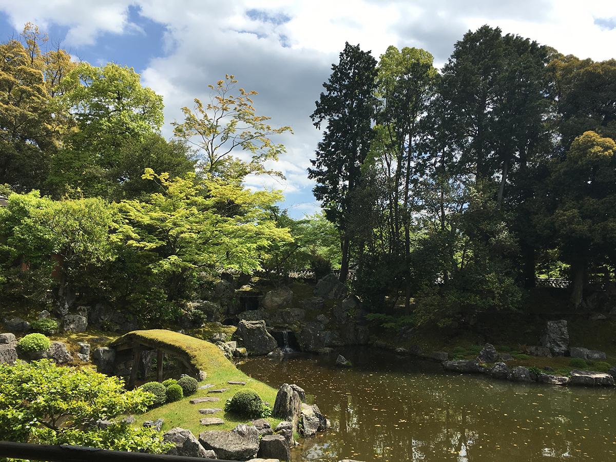 醍醐の花見の庭園