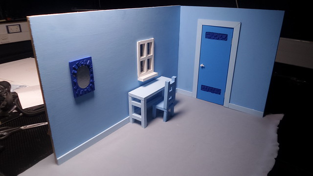 Blue Bedroom Set
