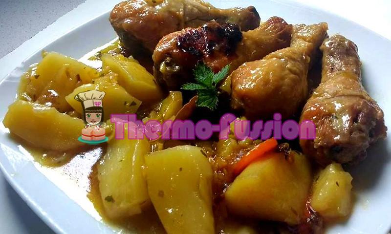 Pollo Guisado Con Patatas Fussioncook