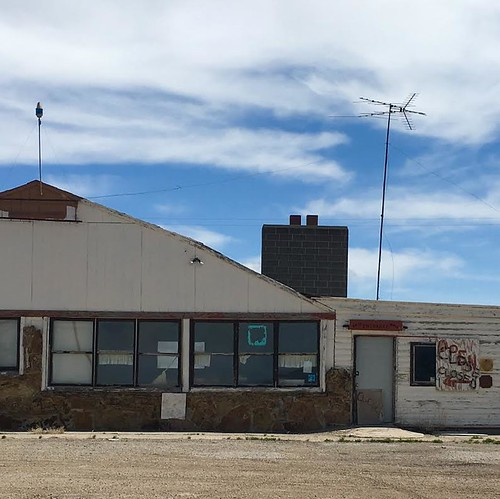 Old Restaurant, Wyoming. From The Art of Road Tripping, Part 2: Remaining Open