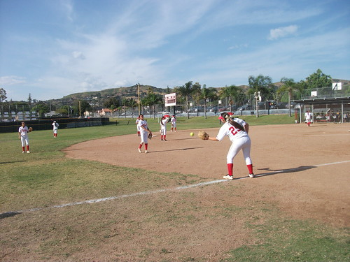 Whittier High School Softball Team