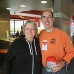 Scott Clark and customer (May 3, 2017)