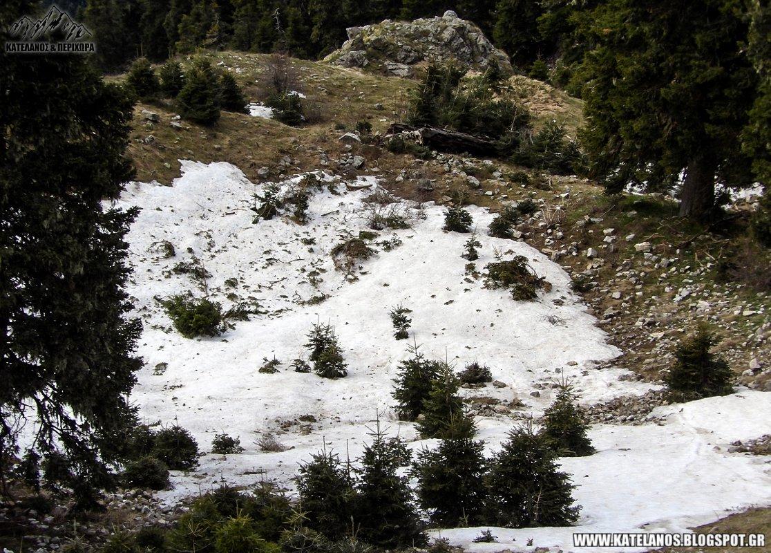 χιονοσροιβαδα στο παναιτωλικο ορος χιονουρα