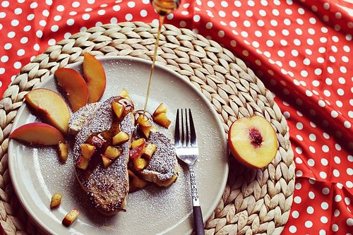 peaches-and-cream-stuffed-french-toast-recipe | by dearlinks